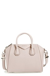 Givenchy 'Small Antigona' Leather Satchel Pink Nude Pink