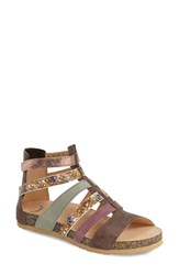 Women's Think 'Dufde' Gladiator Sandal Kred Leather