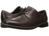 Rockport Classic Break Plain Toe Chocolate Men's Shoes Brown
