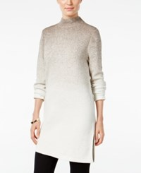 Styleandco. Style Co. Ombre Mock Neck Sweater Only At Macy's Hammack Heather Combo