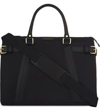 Ted Baker Air Canvas Document Bag Black