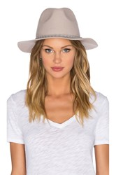 Michael Stars She's Twisted Fedora Gray