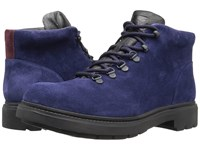 Camper Hardwood K300089 Navy Men's Lace Up Boots