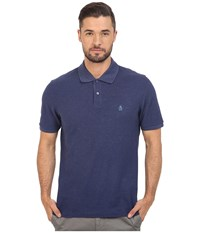 Original Penguin Daddy O Polo Deep Cobalt Men's Short Sleeve Pullover Blue