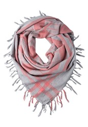 Ichi Raphne Scarf Gray Dawn Light Grey