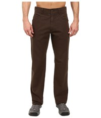 Royal Robbins Billy Goat Five Pocket Pants Turkish Coffee Men's Casual Pants Brown
