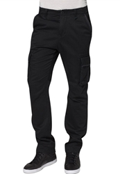 Alpha Industries Landing Cargo Trousers Black