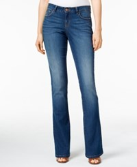 Styleandco. Style Co. Curvy Fit Modern Bootcut Jeans Stream Wash Marine Wash