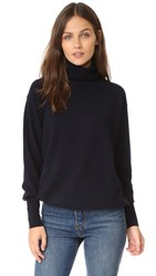 Demy Lee Isla Cashmere Sweater Navy