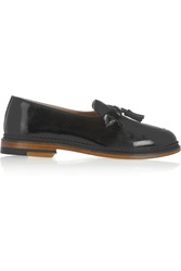 Purified Polly 2 Tasseled Patent Leather Loafers Black