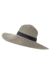 Whistles Hat Black White