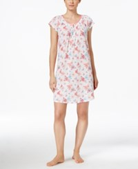 Charter Club Satin Trim Nightgown Only At Macy's Buttrfly Garden