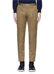 Paul Smith Stretch Cotton Chinos Green