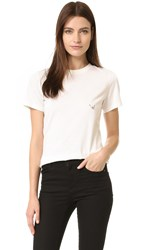 Thierry Mugler T Shirt With Hardware Off White