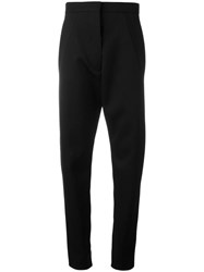 Paco Rabanne High Waisted Trousers Black