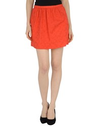 .. Merci Skirts Mini Skirts Women Red