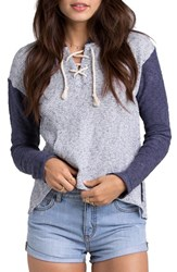 Women's Billabong 'Beach Whisper' Terry Hoodie