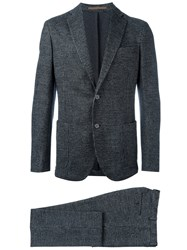 Eleventy Two Piece Suit Black