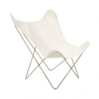 Hardoy Butterfly Chair Acrylic White Cover Chairs And Stools Furniture Department The Conran Shop
