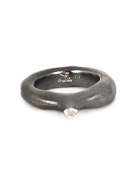 Rosa Maria 'Kirsten' Diamond Ring Metallic