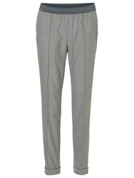 Betty Barclay Pull On Trousers Grey Melange