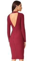 Rebecca Minkoff Magri Dress Wine