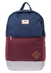 Vans Van Doren Iii Rucksack Port Royale Colorblock Bordeaux