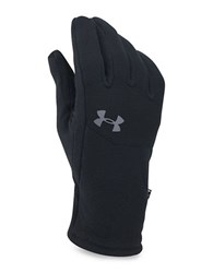 Under Armour Heathered Fleece Gloves Black