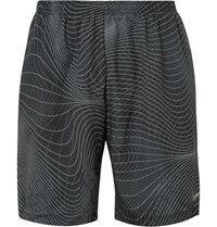 Nike Running 7 Distance Printed Dri Fit Shorts Black