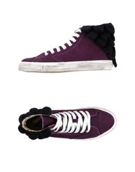 Forfex High Tops And Trainers Purple