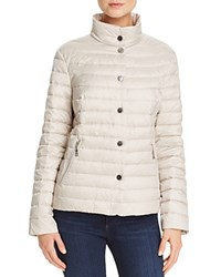 Basler Stand Collar Down Jacket Ivory