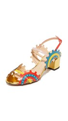 Charlotte Olympia Low Gear Sandals Multi