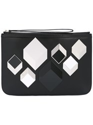 Pierre Hardy 'Cube' Clutch Black