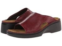 Naot Footwear Rome Rumba Leather Women's Slip On Shoes Red