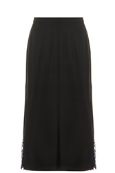 Adam By Adam Lippes Crepe Skirt Black