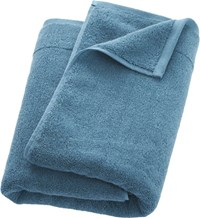 Cb2 Smith Blue Green Bath Towel