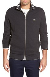 Men's Lacoste Pique Jersey Full Zip Track Jacket Carthusian Chine