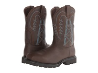Ariat Wildcatter Pull On H20 Fr Comp Toe Chocolate Ct Cowboy Boots Brown