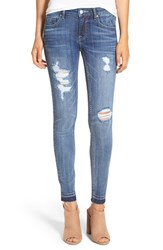 Vigoss Women's 'Chelsea' Destroyed Skinny Jeans