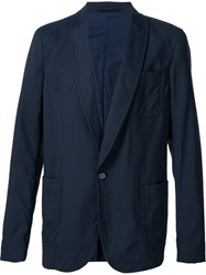 Marni Shawl Collar Blazer Blue