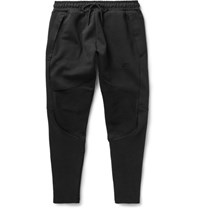 Nike Lim Fit Tapered Cotton Blend Tech Fleece Weatpant Black