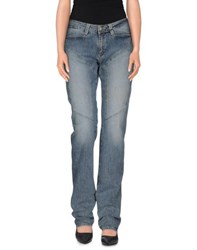 9.2 By Carlo Chionna Denim Denim Trousers Women