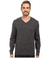 Nautica Snowy V Neck Sweater True Black Men's Sweater