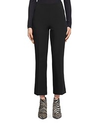 Whistles Cropped Flare Pants Black