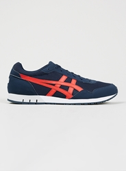 Topman Onitsuka Tiger Curreo Navy Red Trainers Blue
