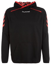 Hummel Fire Knights Poly Hoodie Black