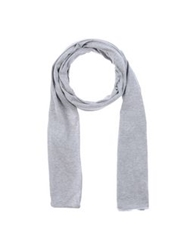 Paolo Pecora Oblong Scarves Light Grey