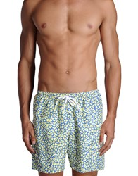 Franks Swimwear Swimming Trunks Men Light Yellow