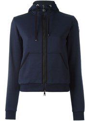 Moncler Classic Hoodie Blue