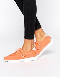 Le Coq Sportif Wendon Levity Neon Orange Trainers Neon Orange